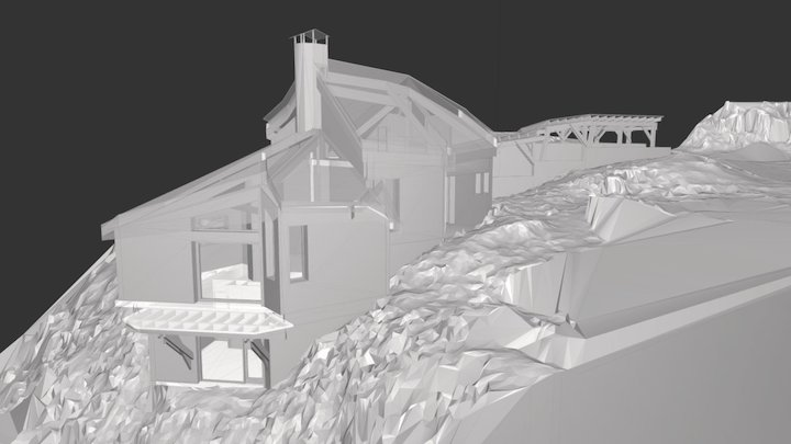 Chalet Privé - Avoriaz 3D Model