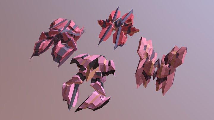 DEMGONs 3D Model