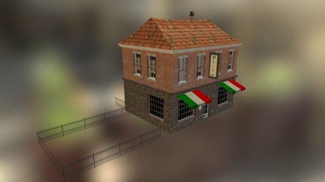 House_Pizzeria 3D Model