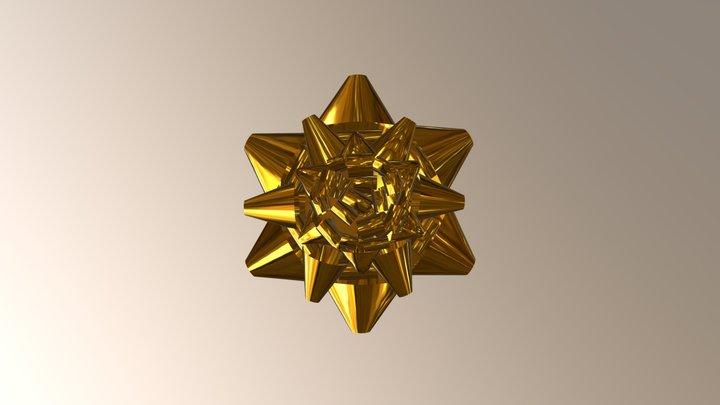 Present Bow 3D Model