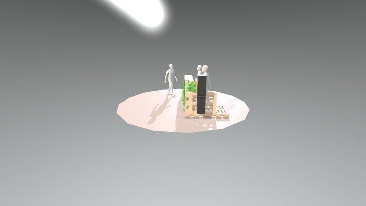 Gin Bar 3D Model