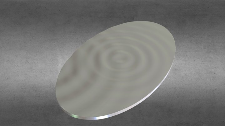 Oval48x79-4 3D Model