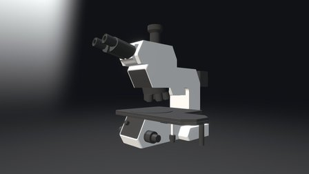 Mikroskop 3D Model
