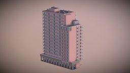 Monaco Building 3 3D Model