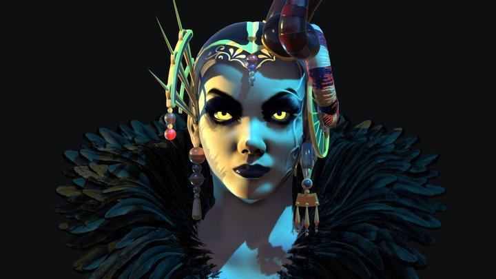 Edea Kramer - Final Fantasy VIII 3D Model