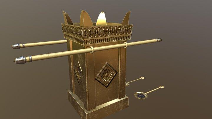 Incense Altar - Temple of Herod 3D Model
