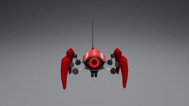Enemy Spider 3D Model