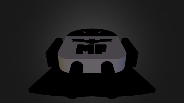 DroidBug Batman 3D Model