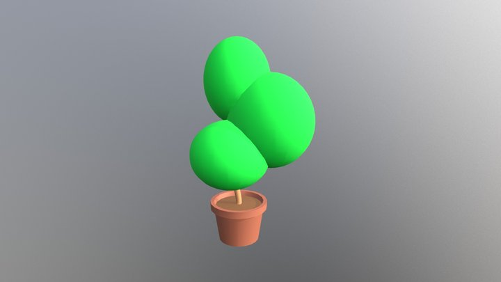 Lovely Tree 3D Model
