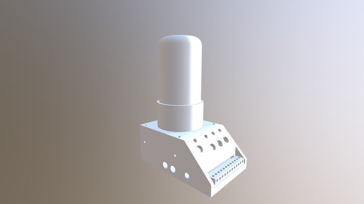 Dekatron Tube 3D Model