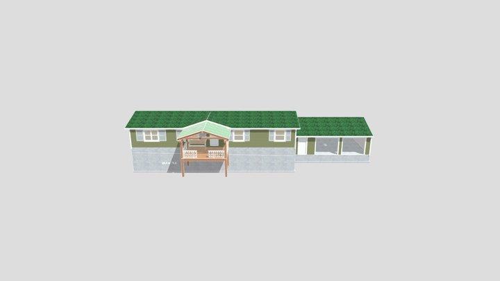Front Porch 3D Model