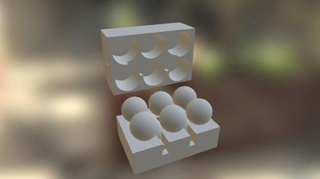 8x8 Sphere Case 3D Model