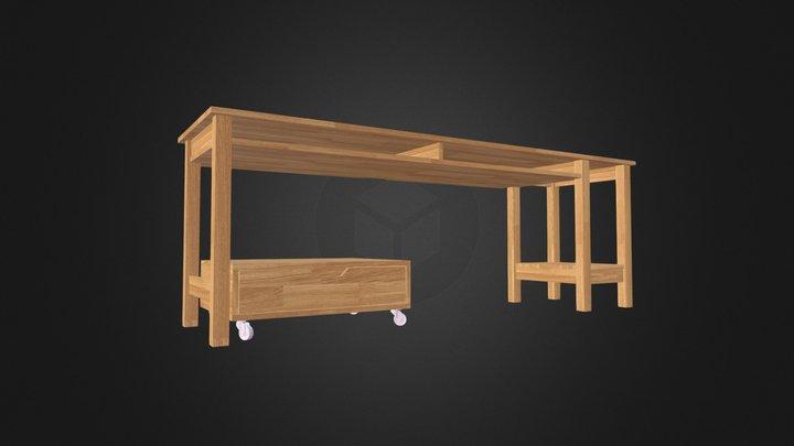 KL Desk 3.0 3D Model