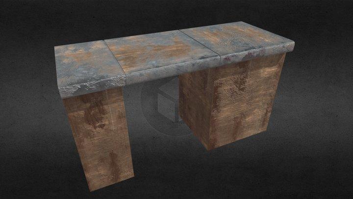 Counter Top Hatch 3D Model