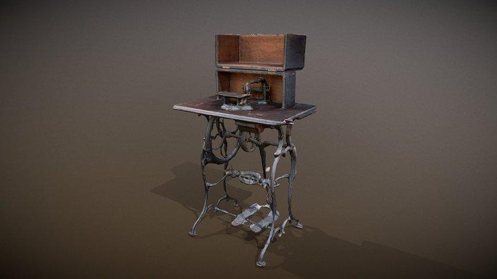 Maquina de coser 3D Model
