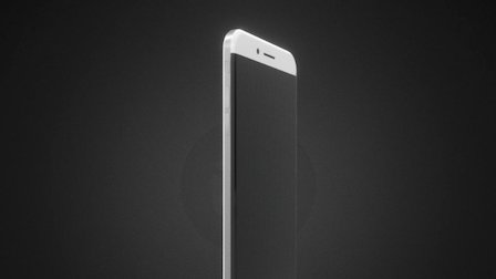 iPhone 8 Concept 3D Model