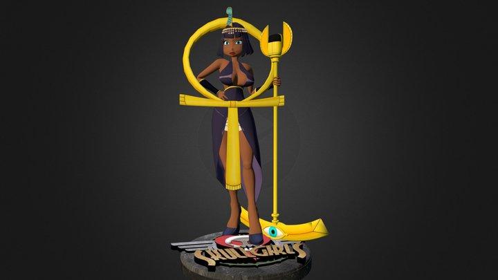 Skullgirls: Eliza 3D Model