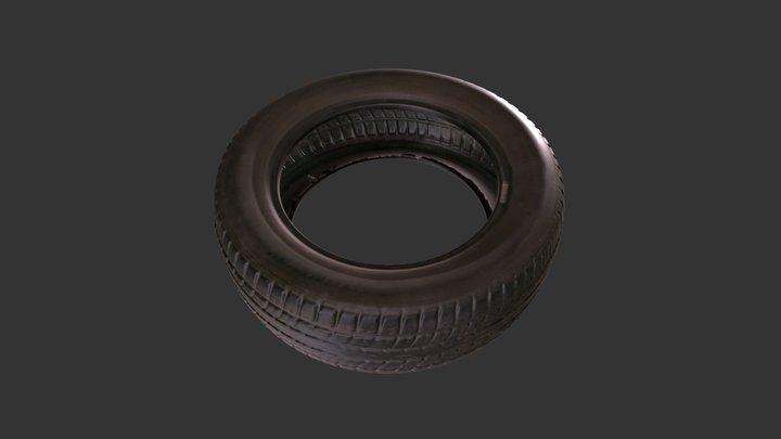 3D Scan of a Tyre 3D Model
