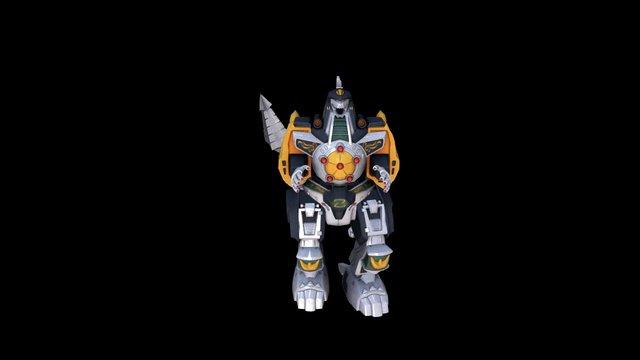 Dragonzord 3D Model