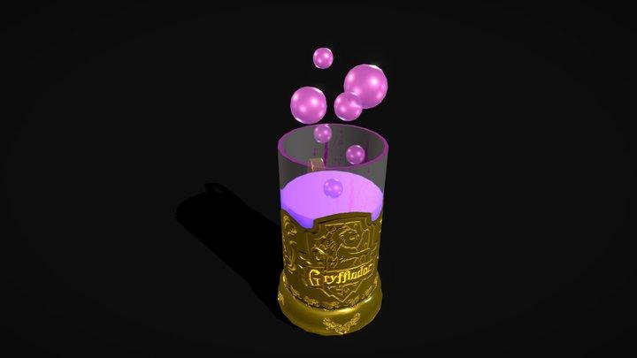 Gryffindorf cupholder 3D Model