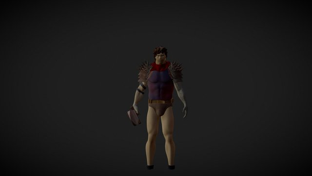 Berserk - Guts 3D Model