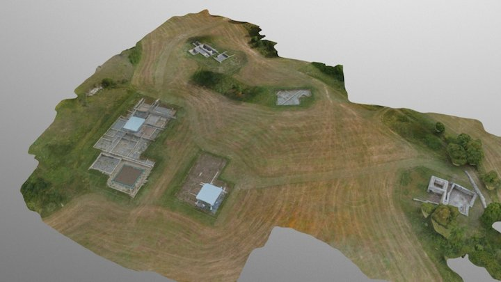 romana zona 1 Simplified 3d Mesh 3D Model