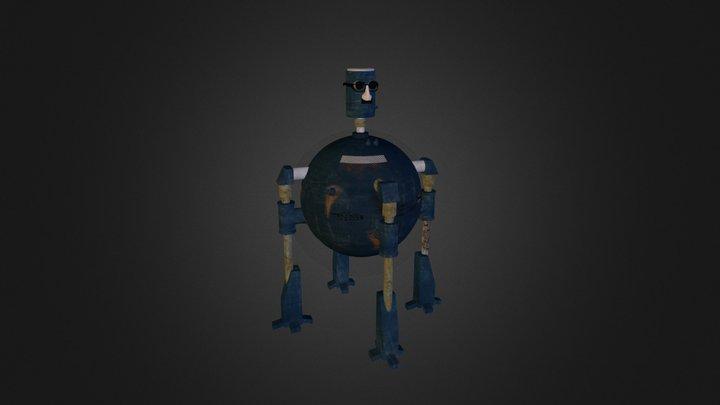 Big robot 3D Model