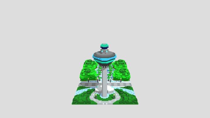 Kuala Lumpur Airport 3D Model