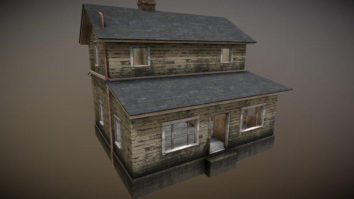 Town Buildings 01 3D Model
