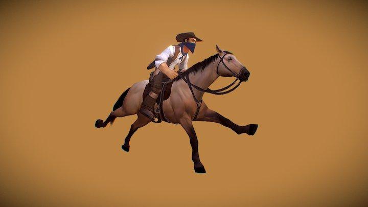 Horse Animset Pro 3D Model
