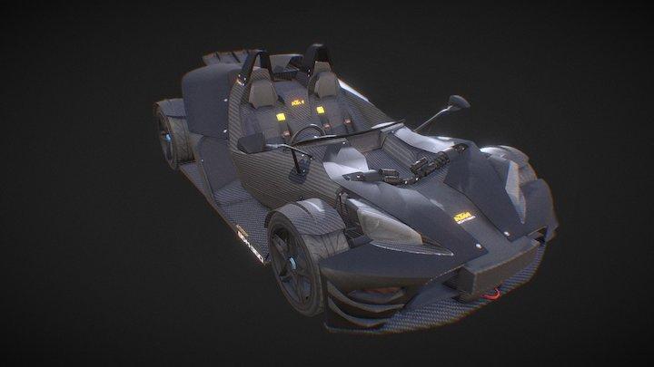 KTM X-BOW 3D Model