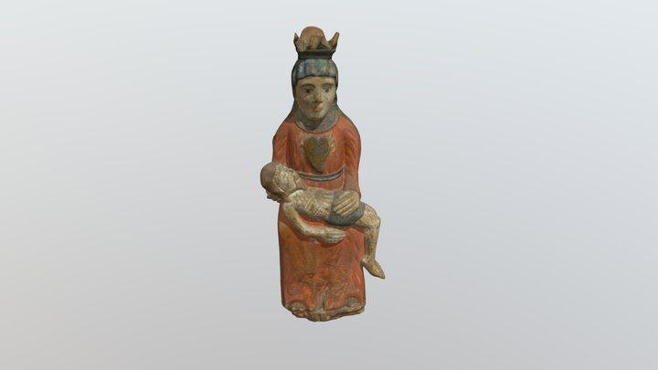 Sopulingoji Dievo Motina Marija – Pieta. XIX a. 3D Model
