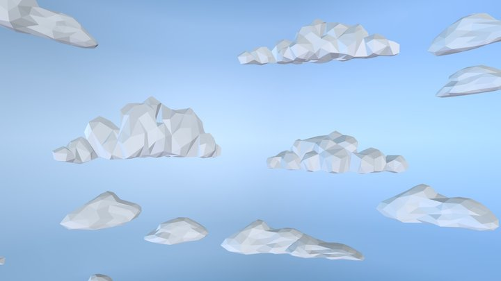 Star Wars - Low Poly Hoth Skybox 3D Model