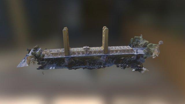 Sacramento Tower Bridge 3D Model