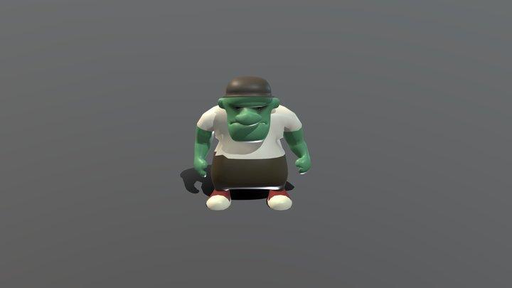 Luddite 3D Model
