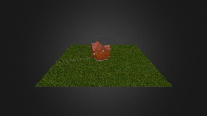 Casa Madera A 3D Model