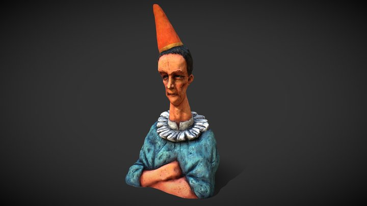 Jester 3D Model