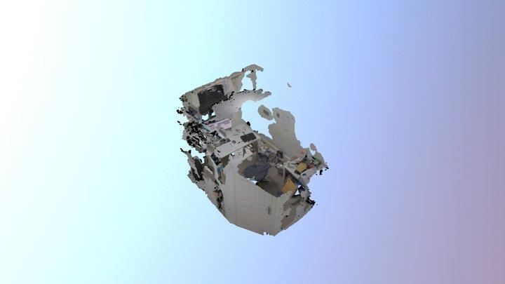Study Fisheye More Shots - SLAM processing 3D Model