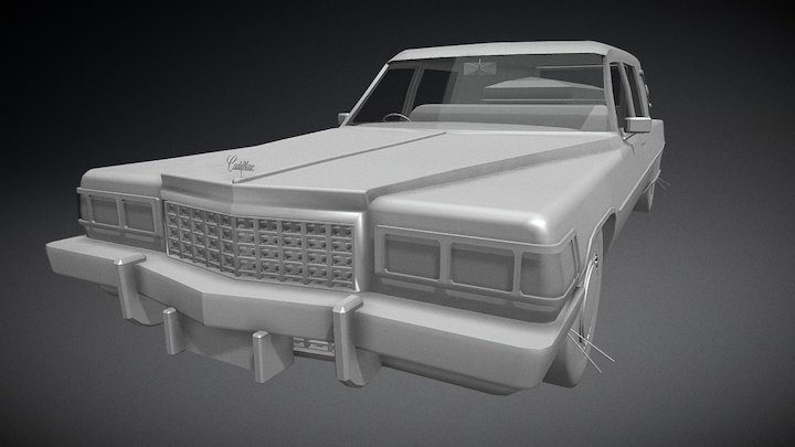 1975 Cadillac Miller-Meteor 3D Model