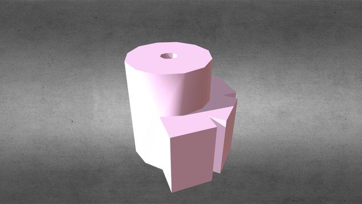 LED Photometer case emitter mount 3D Model