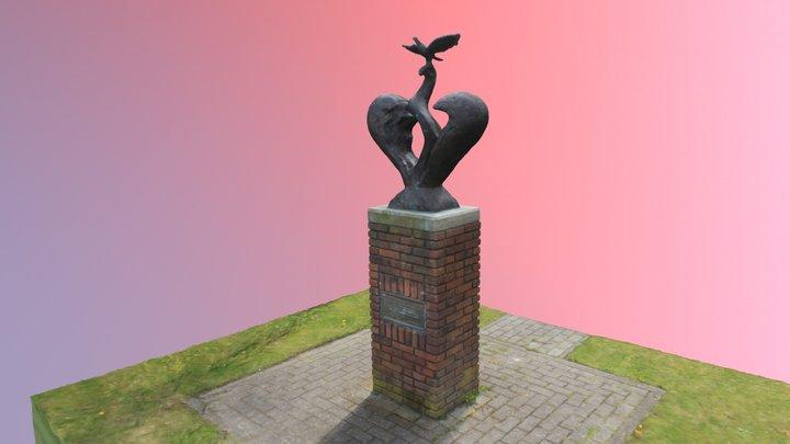 Vrijheidsduif- Nieuw Weerdinge 3D Model