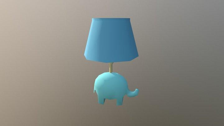 Elephant Lamp 3D Model