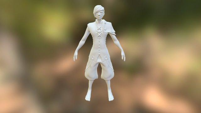 Hero 3D Model