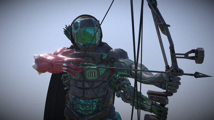 Dark archer 3D Model