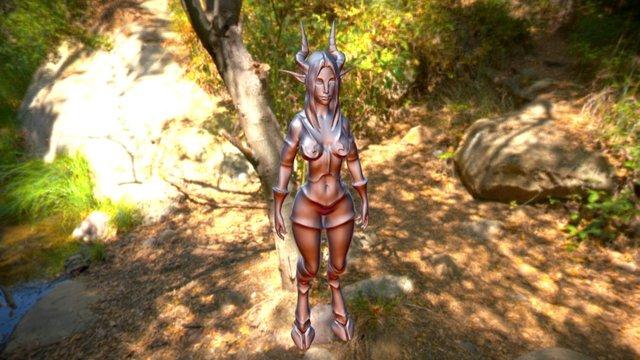 Nuraka - Concept 3D Model
