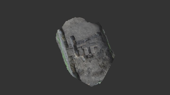 Drain Yesse Monastic site 3D Model