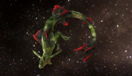 Rayquaza (Leisure Doodling) 3D Model
