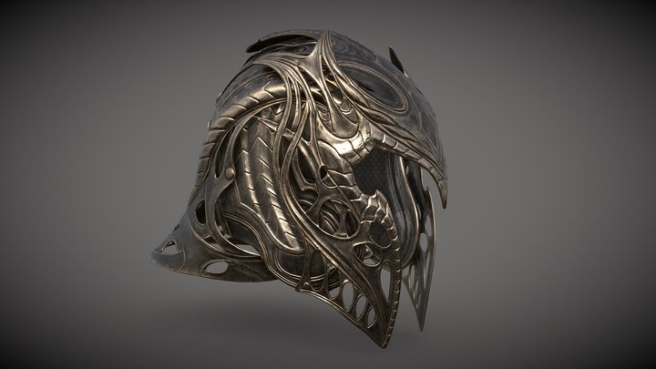 Krypton Helmet 3D Model