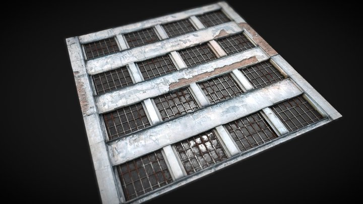 Old Building Material 3D Model