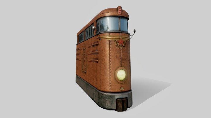 Tramvai 3D Model